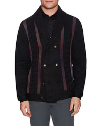 Robert Graham Ribbed Cardigan