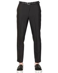 Emporio Armani 185cm Mohair Wool Blend Pants