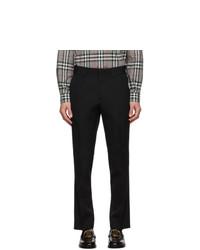 Burberry Black De Poudre Trousers