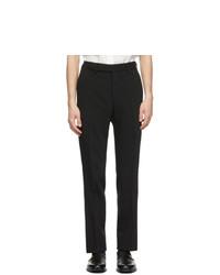 Fendi Black Forever Ff Pockets Trousers