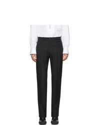 Random Identities Black Officer Trousers