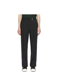Burberry Black Tailored Trousers