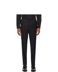 Kenzo Black Twill Slim Trousers