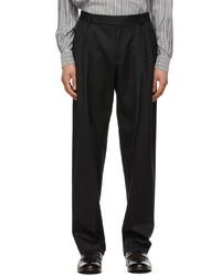 Ermenegildo Zegna Couture Black Usetheexisting Trousers