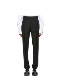 Bottega Veneta Black Washed Mohair Trousers
