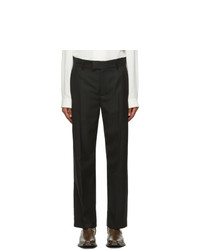 Séfr Black Wool Mike Suit Trousers
