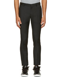 Calvin Klein Collection Black Wool Exact Trousers