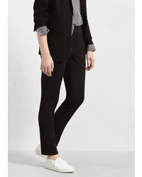 Violeta BY MANGO Cotton Suit Trousers