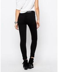 Only Double Zip Skinny Pants