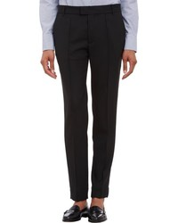 Band Of Outsiders Grosgrain Stripe Tuxedo Pants Black Size 1