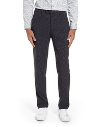 Ted Baker London Grovten Slim Fit Check Trousers