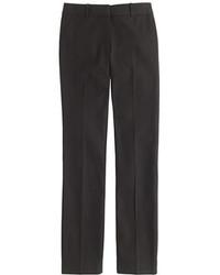 J.Crew Petite Campbell Trouser In Bi Stretch Cotton