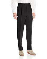 Louis Raphael Louis Raphl Linen Blend Pleated Straight Fit Dress Pant