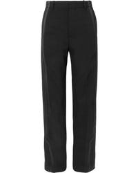 Balenciaga Med Crepe Straight Leg Pants