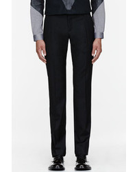 Thierry Mugler Mugler Black Wool Classic Slim Trousers