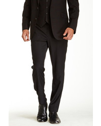Kenneth Cole New York Black Pinstripe Component Pant