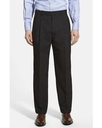 Linea Naturale Pleated Wool Dress Pants