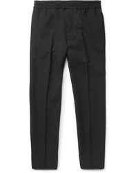 Acne Studios Ryder Slim Fit Wool And Mohair Blend Trousers