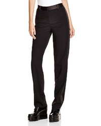 DKNY Satin Trim Tuxedo Pants Bloomingdales