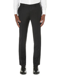 Hugo Boss Slim Fit Stretch Wool Trousers