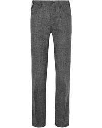 Prada Slim Fit Virgin Wool Tweed Trousers