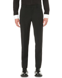 Givenchy Star Embroidered Wool Tuxedo Trousers