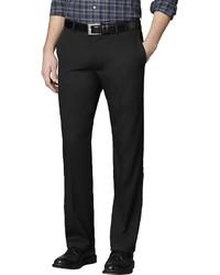 Van Heusen Straight Leg No Iron Flat Front Dress Pants