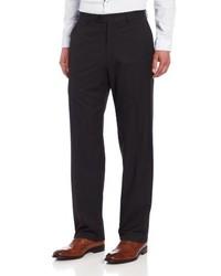 Haggar Striped Plain Front Suit Separate Pant