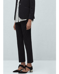 Mango Outlet Tabbed Suit Trousers
