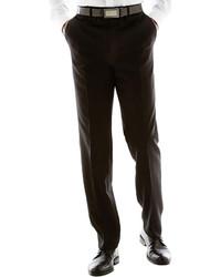 Claiborne Textured Flat Front Suit Pants
