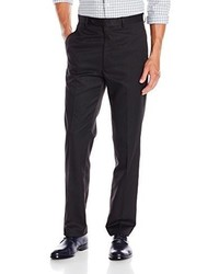 Tommy Hilfiger Gaines Black Check Flat Front Dress Pant