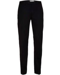 Topman Black Skinny Fit Tuxedo Pants