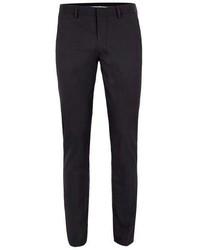 Topman Black Textured Ultra Skinny Fit Suit Pants