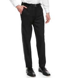 Versace Tuxedo Trousers Black