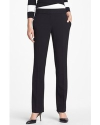 Vince Camuto Straight Leg Pants Rich Black 8p