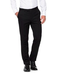 WD.NY Wdny Black Slim Fit Suit Pants Black Wdny Black