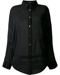 Ann Demeulemeester Gauche Belted Shirt