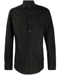 Dolce & Gabbana Bib Front Cotton Shirt