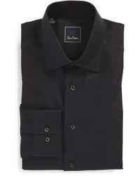David Donahue Big Tall Regular Fit Oxford Dress Shirt
