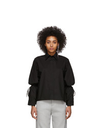 MM6 MAISON MARGIELA Black String Shirt