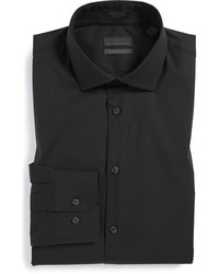 Calibrate Extra Trim Fit Non Iron Solid Stretch Dress Shirt