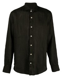 Eleventy Classic Linen Shirt