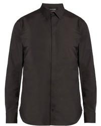 Alexander McQueen Classic Stretch Cotton Shirt