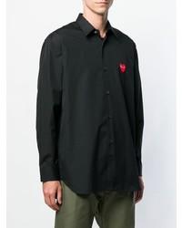 Comme Des Garcons Play Comme Des Garons Play Classic Heart Patch Shirt