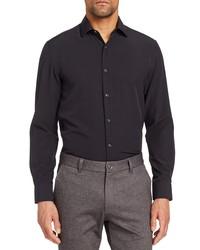 BROOKLYN BRIGADE Fit Stretch Solid Dress Shirt
