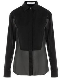 Givenchy Sheer Panel Shirt