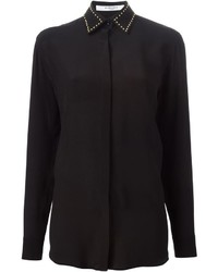 Givenchy Studded Collar Shirt