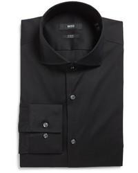 BOSS Jason Slim Fit Solid Stretch Dress Shirt