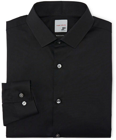 Jcpenney Jf Jferrar Jf J Ferrar Solid Dress Shirt Super