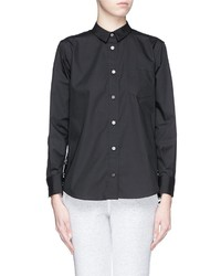 Sacai Luck Lace Back Poplin Shirt
